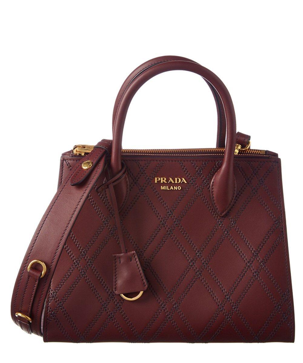 f5532ecc0886 PRADA Prada Paradigme Saffiano Leather Double Handle Tote. #prada #bags  #shoulder bags #hand bags #leather #tote #lining #