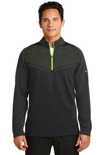 Nike Golf Therma FIT Hypervis Half Zip Cover Up from NYFifth