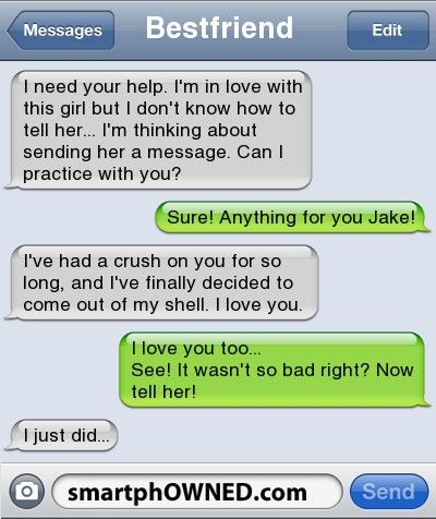 Funny text messages to send to a girl you like