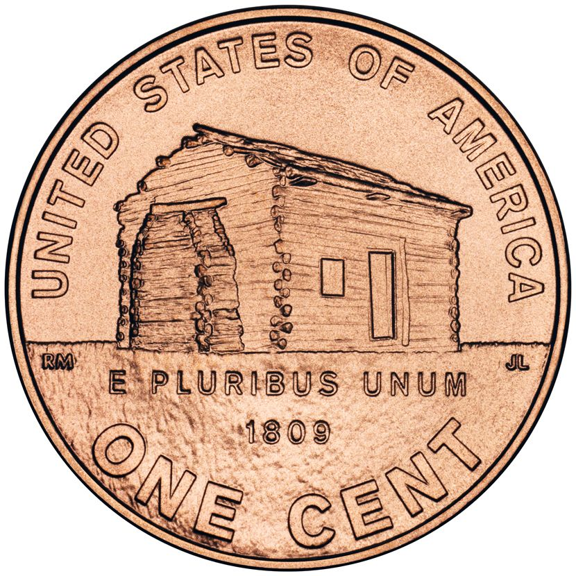 2009 Lincoln Log Cabin Penny History And Facts Lincoln
