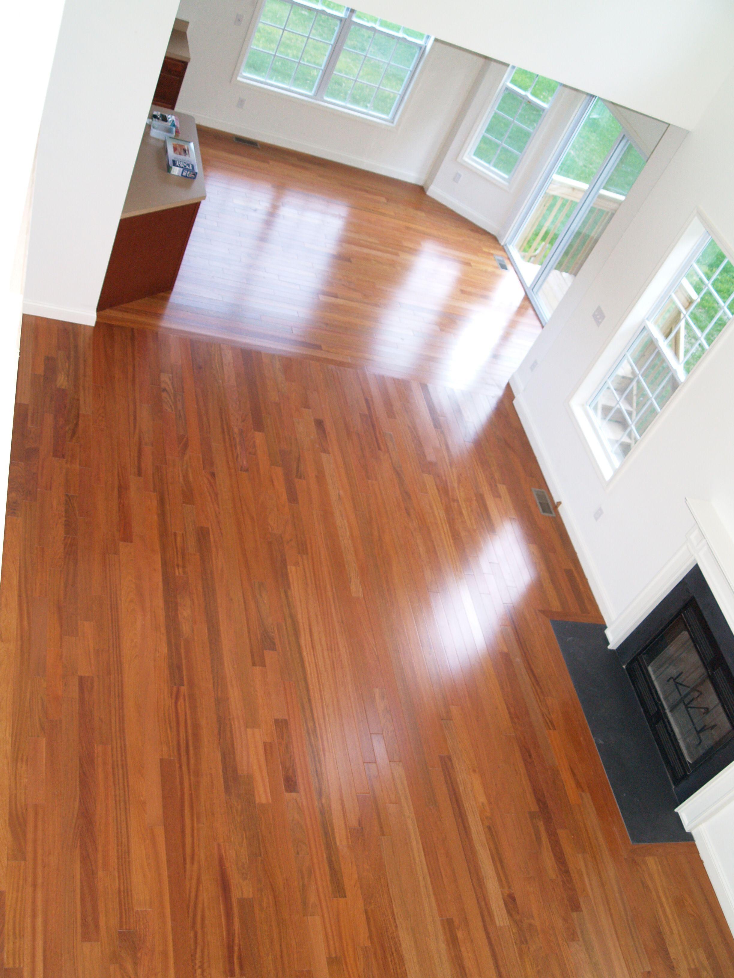 Solid Brazilian Cherry Jatoba Hardwood Flooring New