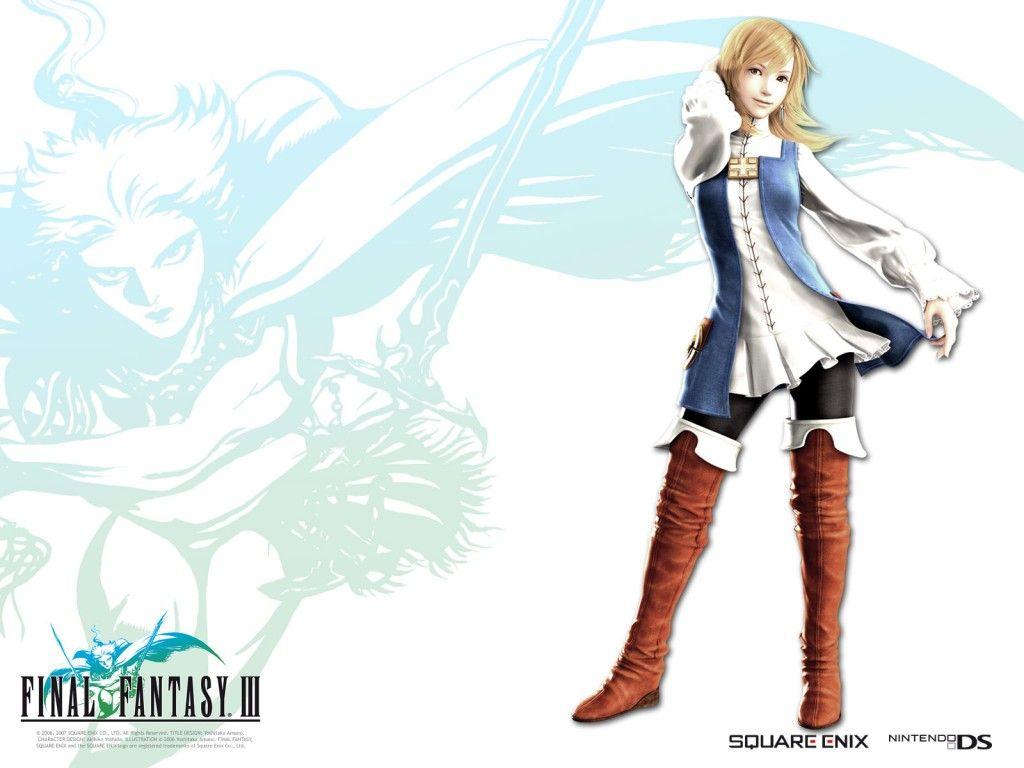 Final Fantasy Iii Refia Final Fantasy Collection Cosplay