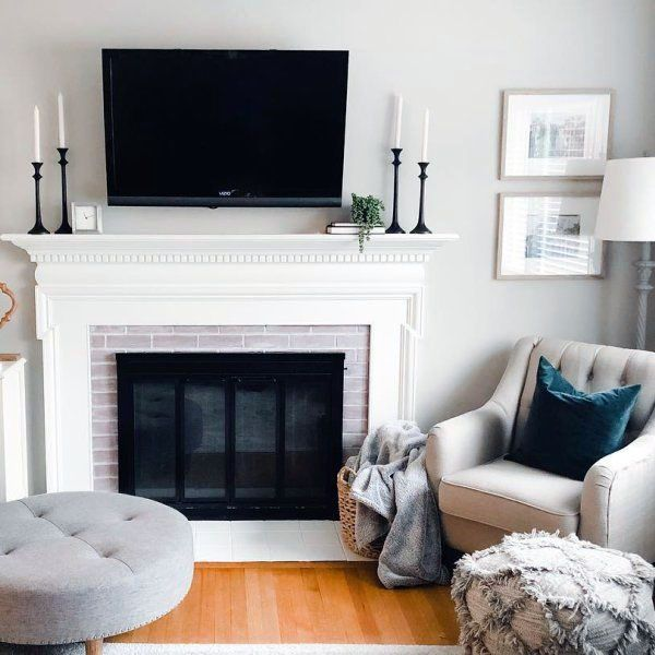Unbelievable Tv Above Fireplace Mantel Ideas Exclusive On Miraliva Com Living Room Decor Fireplace Fireplace Mantle Decor Living Room With Fireplace