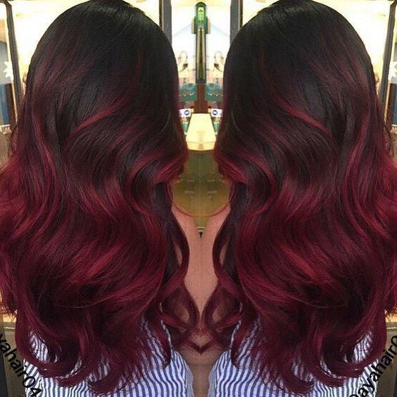 Do You Love Red Hair 21 Dark Red Hair Ideas Cherrycherrybeauty