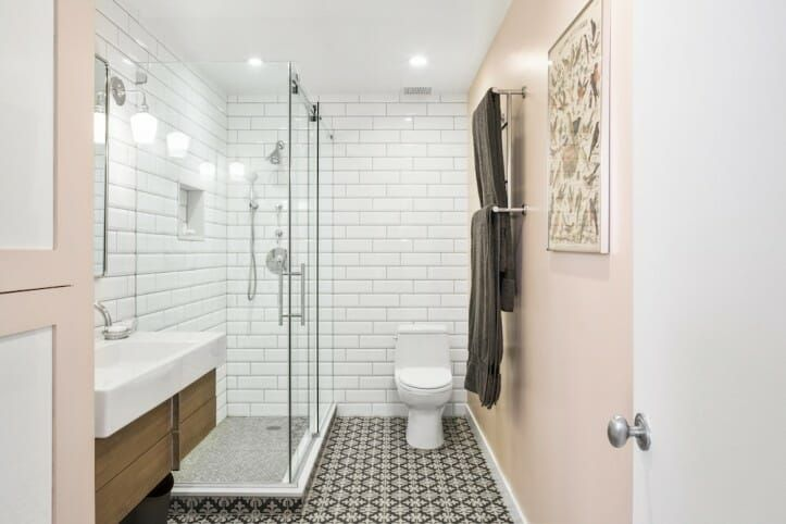 5 Different Ways To Renovate A Black And White Bathroom Apartment Bathroom Design Small Bathroom Remodel Bathroom Remodel Cost