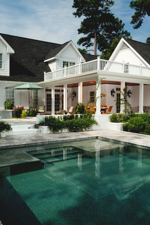 Pin By Eye Of The Beholder On The Neighborhood My Dream Home Beautiful Homes Pool Houses