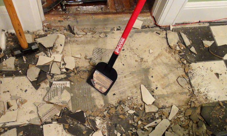 Removing Ceramic Tile From Floors Tile Removal Ceramic Floor