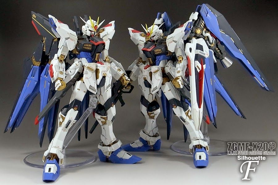 Custom Build: MG 1/100 Strike Freedom Gundam Mix Build - Gundam Kits Collection News and Reviews