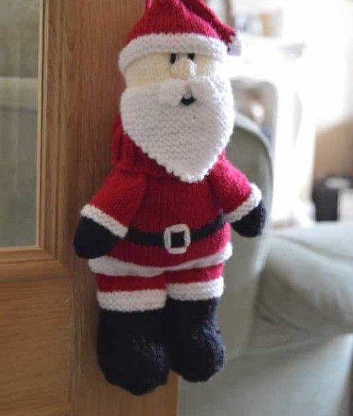Santa Baggles Gift Bag Christmas Pinterest Knitting Patterns