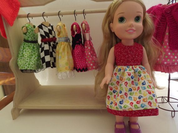 Small doll Disney, Les chéries dress and other doll about 13 in. Small dress for Disney, and other 13 inch doll darlings.