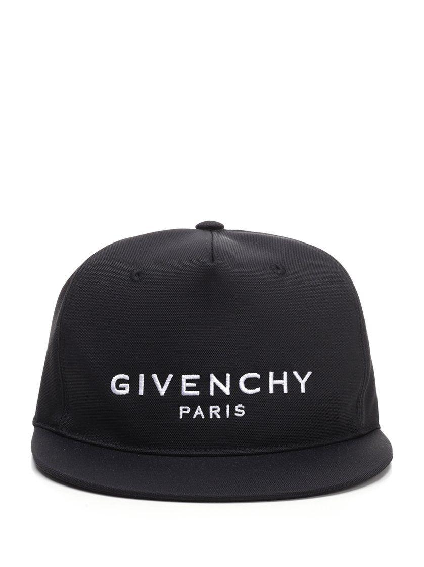 b4d85e9a445 GIVENCHY GIVENCHY LOGO BASEBALL CAP.  givenchy