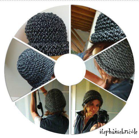 f2ca541bee8 Tuto tricot   comment faire un gros bonnet bien épais