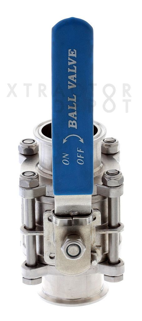 Encapsulated Tri Clamp Ball Valves Ss304 Valve Ball Tri
