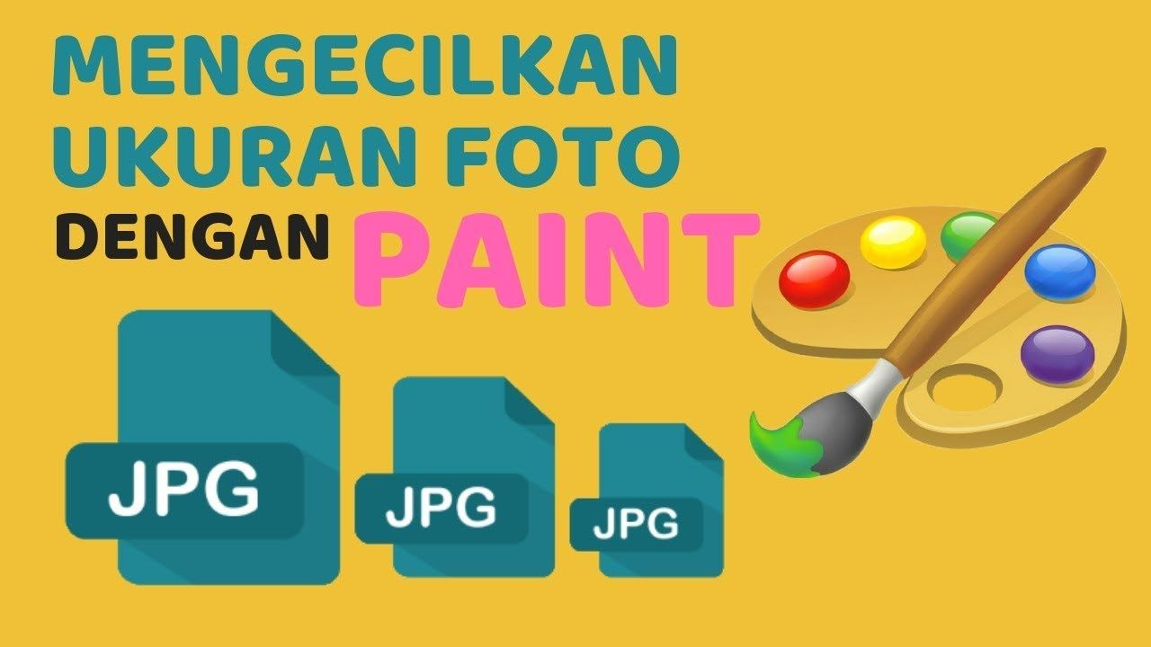 Cara Mengecilkan Ukuran File Foto Dengan Paint Website Aplikasi Science