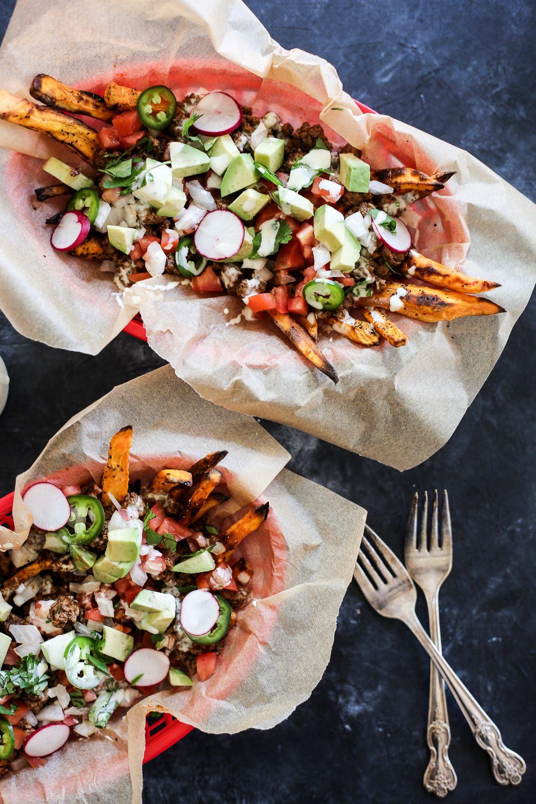 Loaded Sweet Potato Fries Recipe Whole30 sweet potato