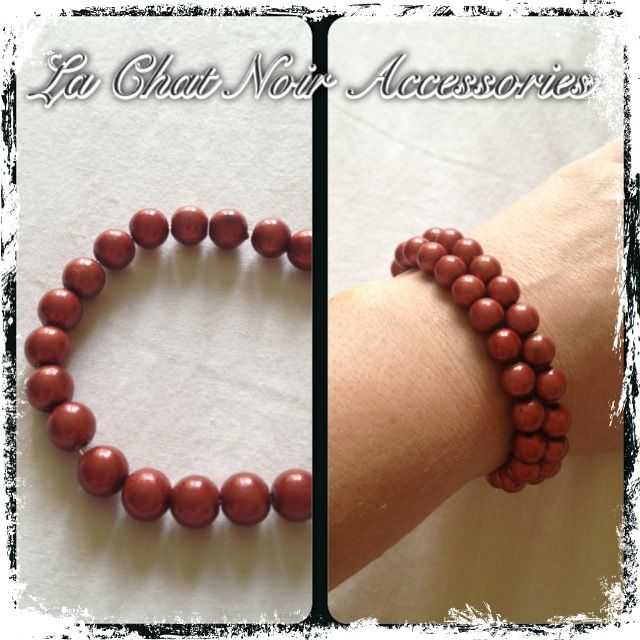 Copper Red Bracelet