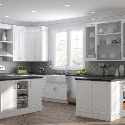 Elgin Assembled 18x36x12 in. Wall Kitchen Cabinet with ...
