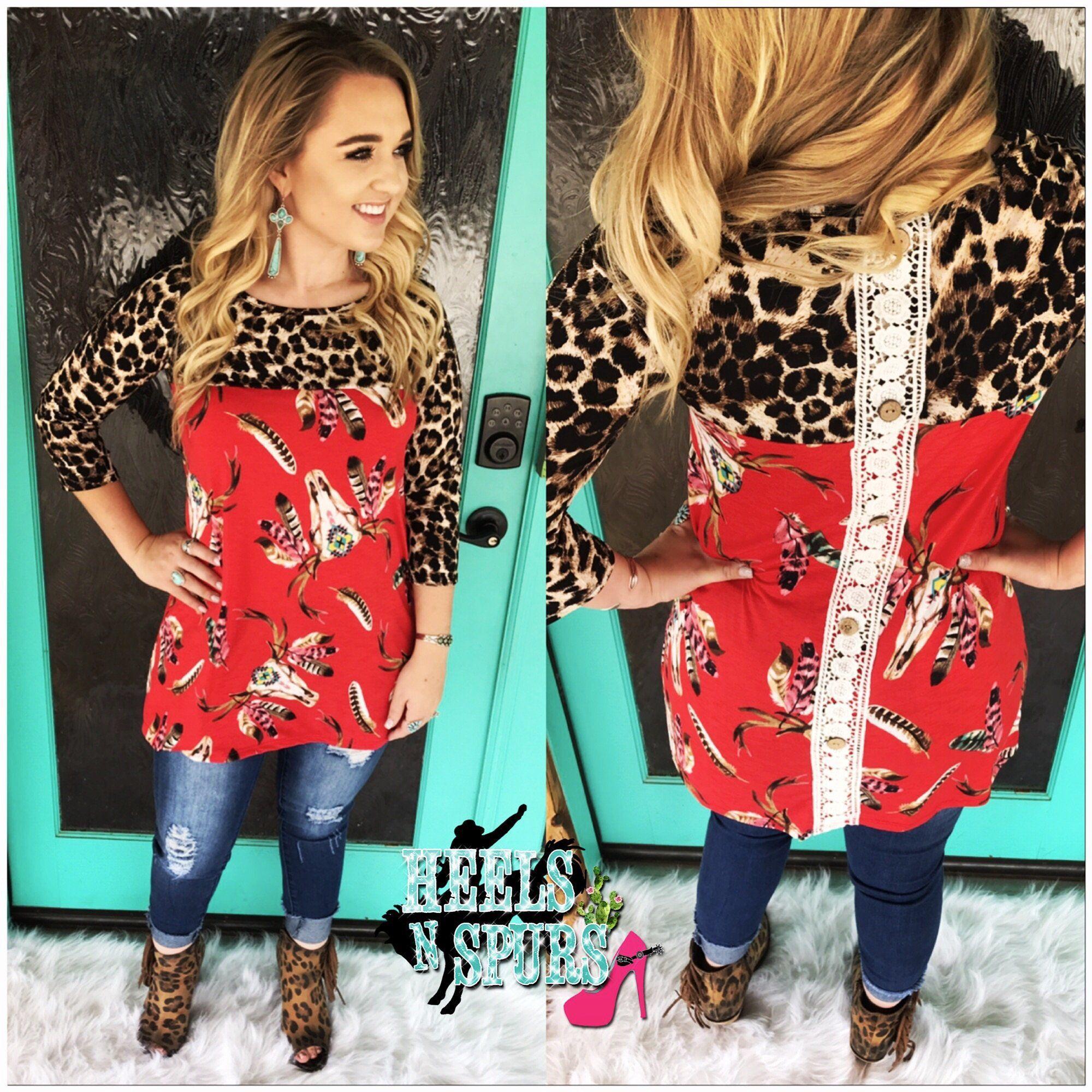 Cheetah bull top red tops pinterest cheetahs and clothes