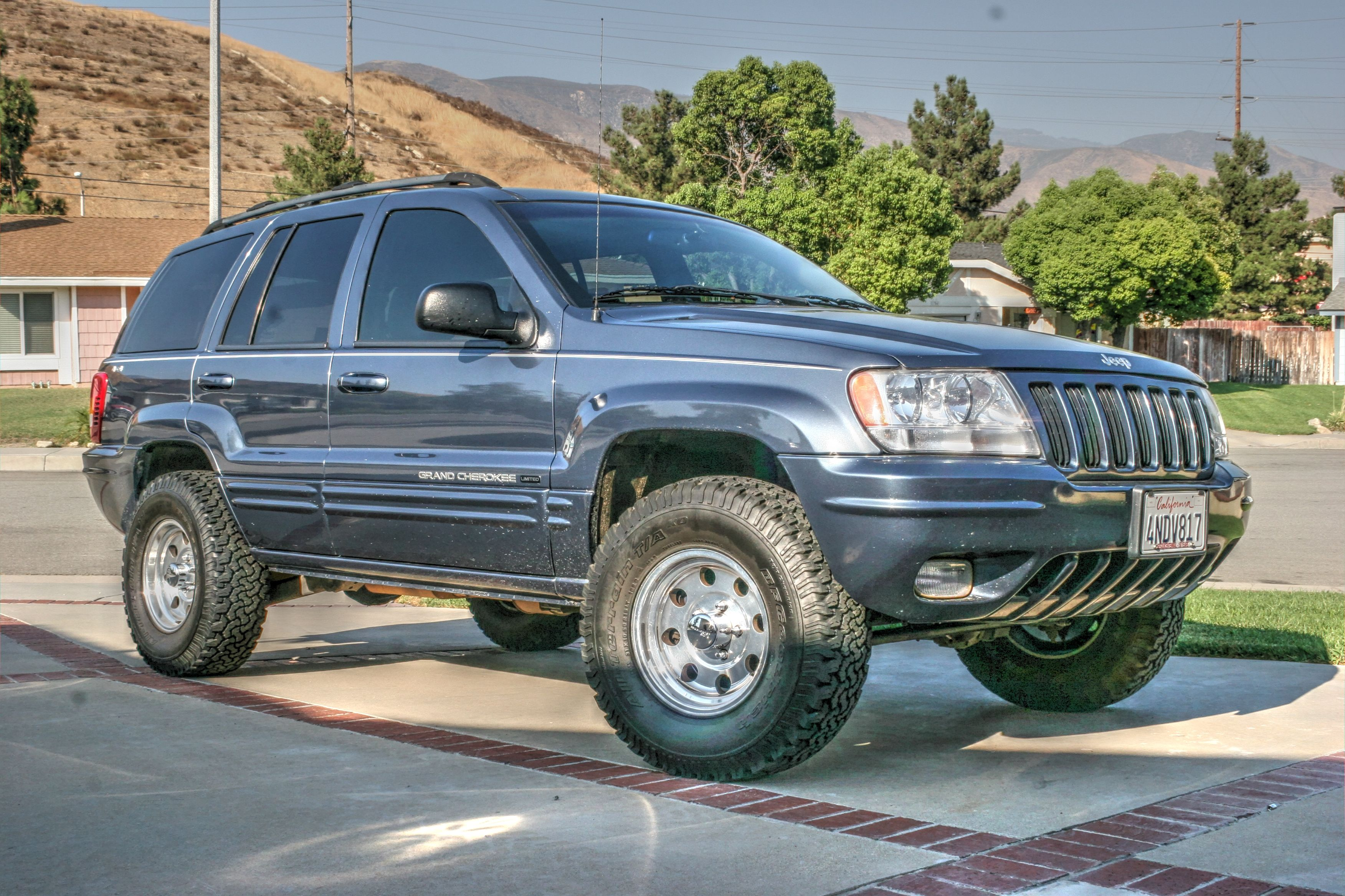 2000 Jeep Grand Cherokee Limited Before Lift Jeep Wj Jeep Jeep