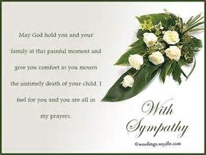 Letter Of Sympothy To Friend That Lost Wife