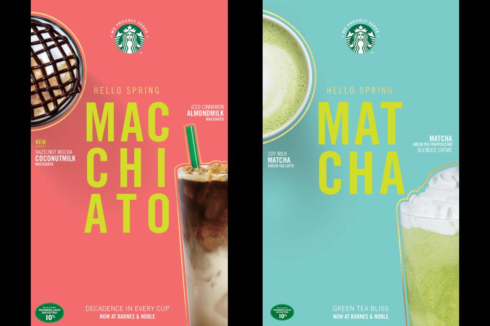 Starbucks Spring Promotion Brigita Zabulionyte In 2020