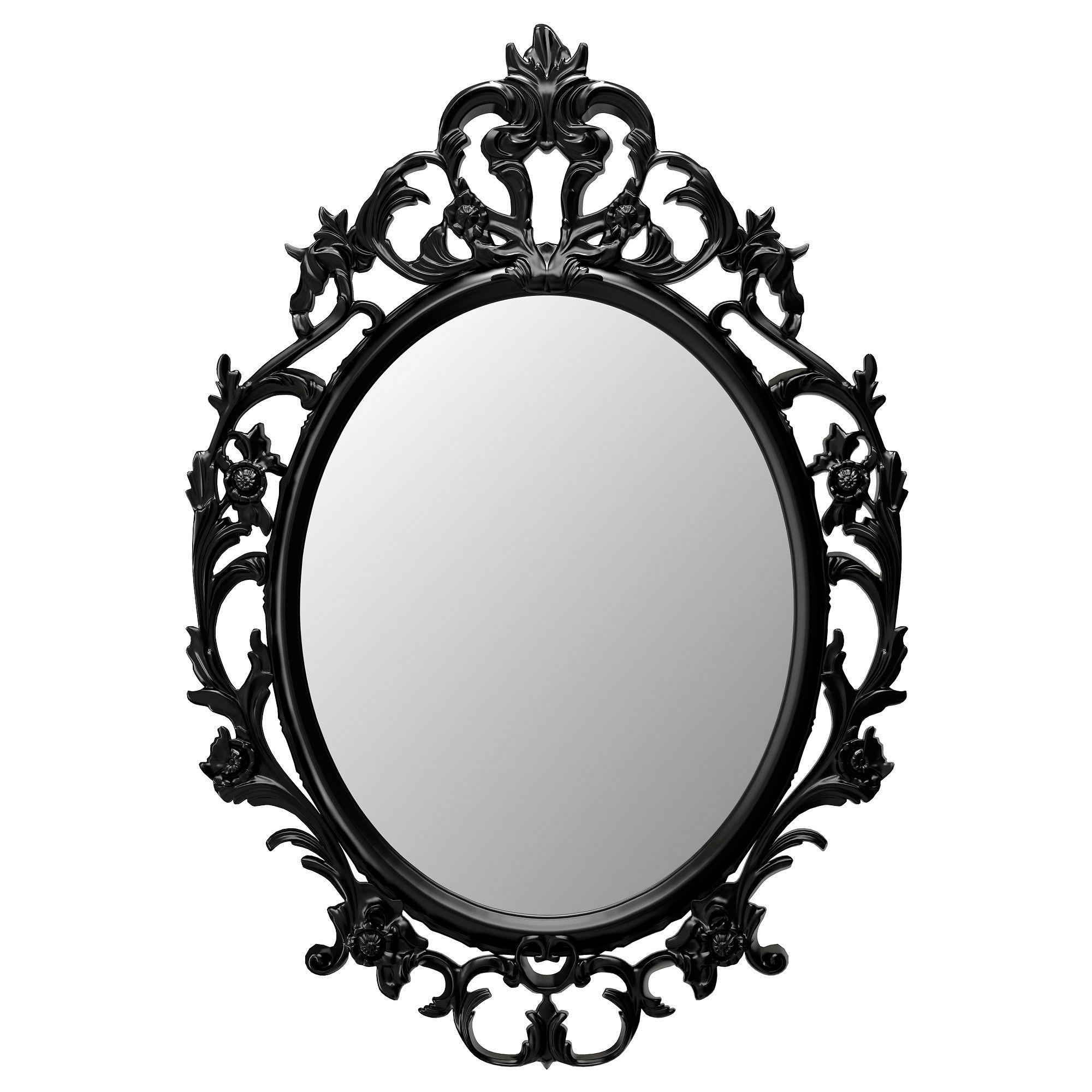 UNG DRILL Miroir Ovale Noir SALLE DE BAINS Pinterest