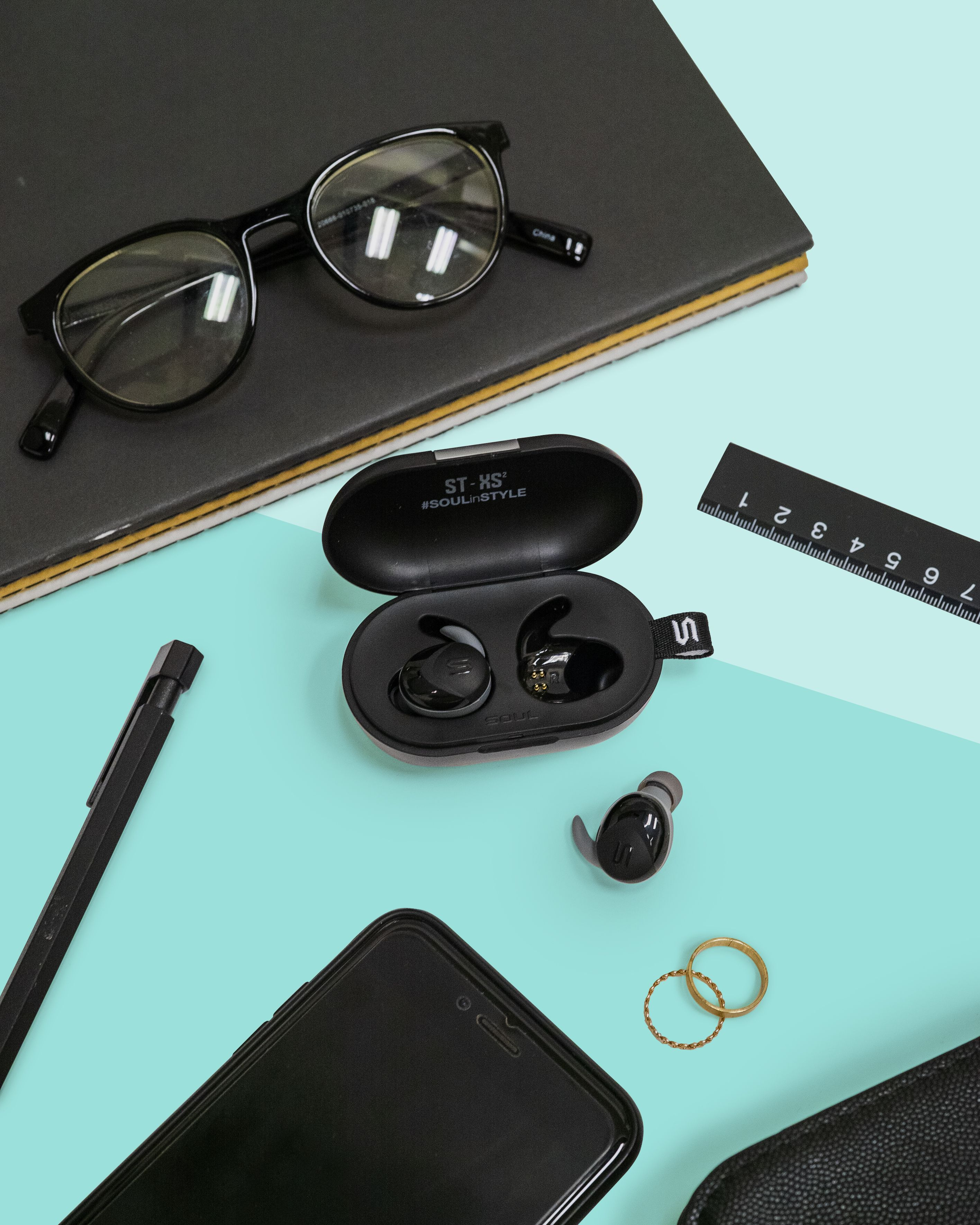 6cd4555f6dc Introducing ST-XS2, the truly wireless earphone designed with IPX7  weatherproof protection and ergonomic