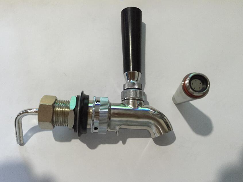 American style stainless steel slow pressure beer column tap/coffee ...