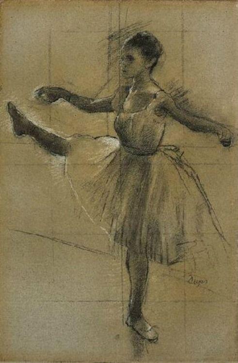 Edgar Degas. Danseuse | Dessins degas, Tableaux de degas, Ballerine degas