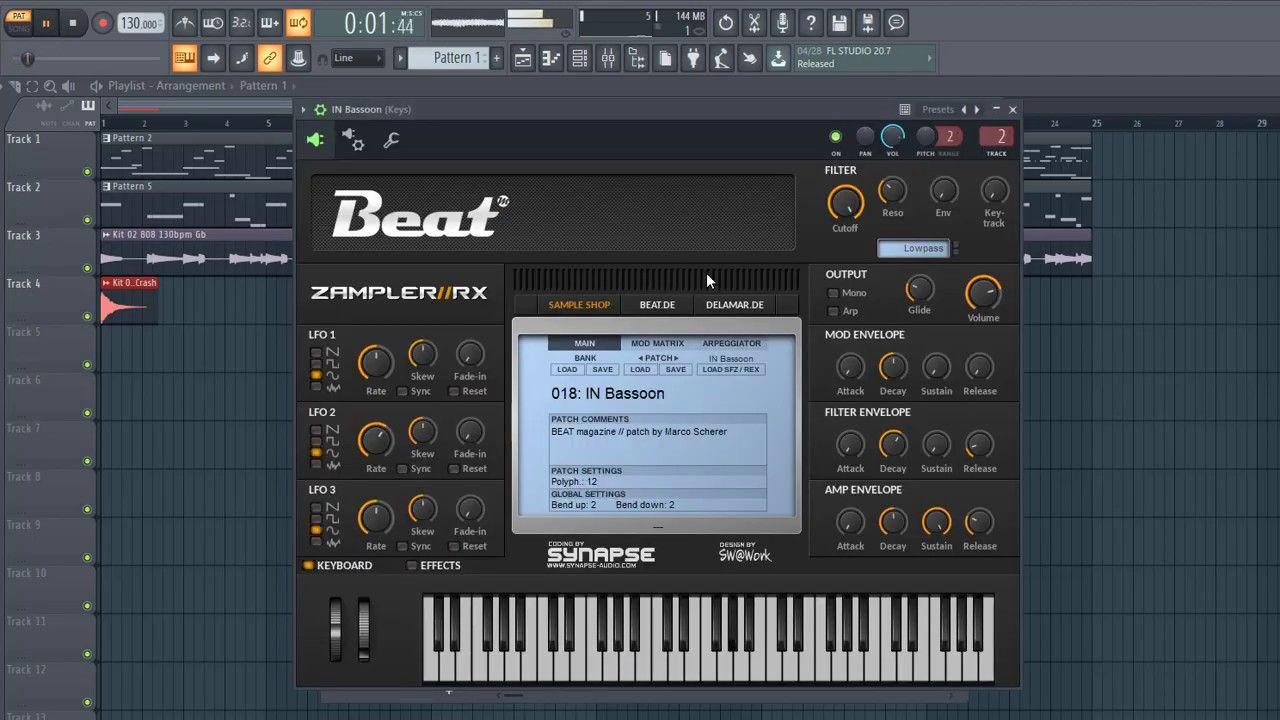 Making orchestra trap beat zamplerrx free sampler fl