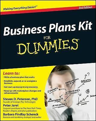 Business Plans Kit For Dummies Rd Edition  Business Planning