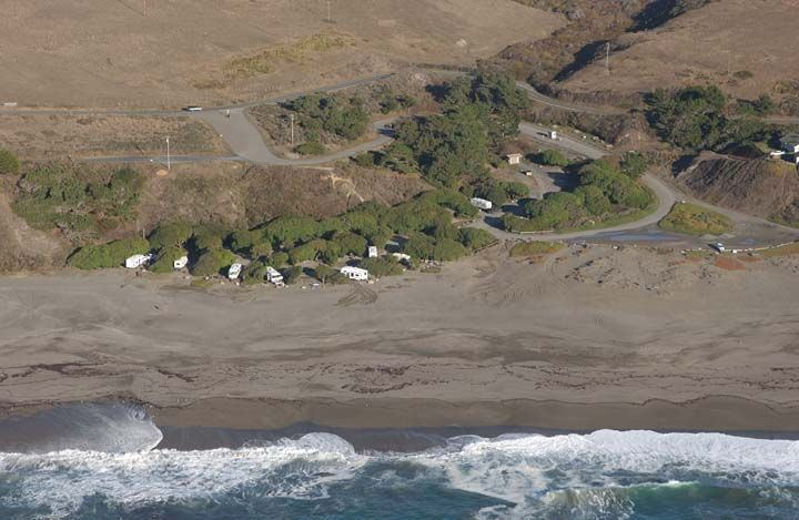California Coastal Records Project Image 12480 Wright S Beach Campground Sonoma Coast State