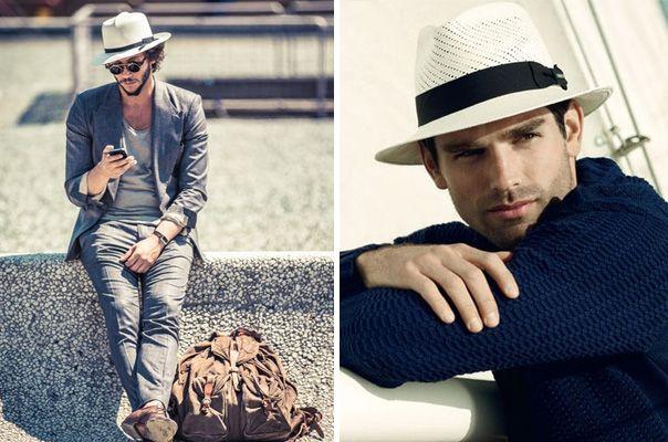 ¿Quién dijo que a los hombres no les queda bien un sombrero   sombrero   hombre  moda  elegante  estilo 798c784326a0