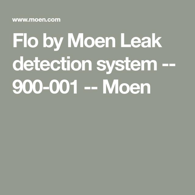 Flo By Moen 3 4 Smart Water Shutoff Smart Water Water Smart Home