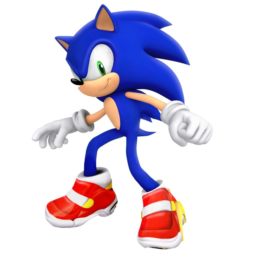 Soap shoes, Sonic the hedgehog