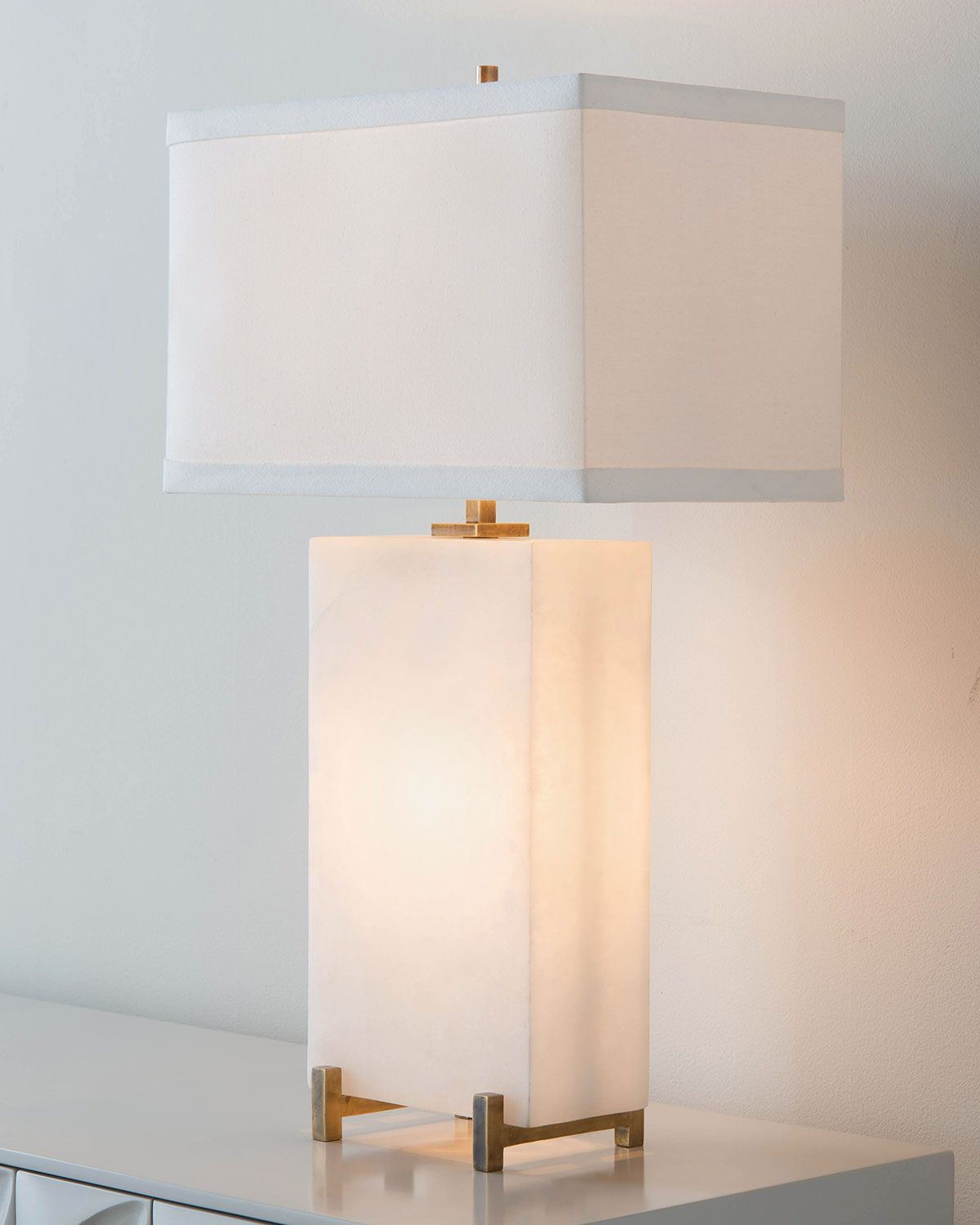 John richard collection alabaster block table lamp brilliant alabaster block table lamp geotapseo Image collections