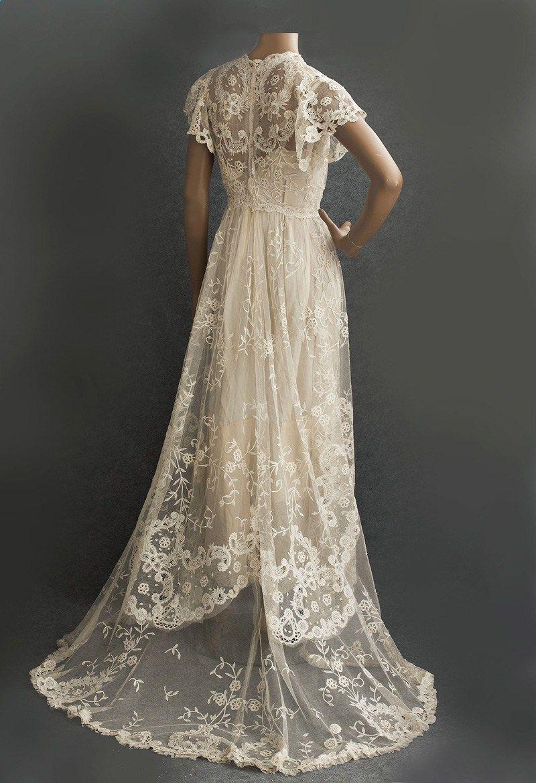 Edwardian wedding gown edwardian pinterest dresses wedding