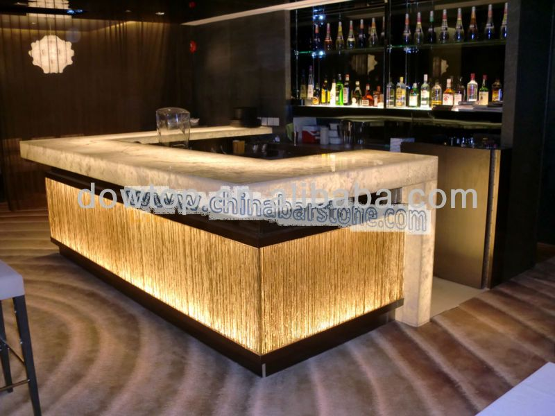 Restaurant counters designs images for Bar front ideas