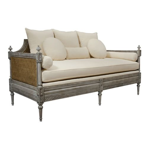 Currey Company Luxembourg Custom Upholstery Daybed Demi Ryan Demiryanhome Shop Homedesignboutique Www Demiryan French Sofa Upholstered Daybed Cane Sofa