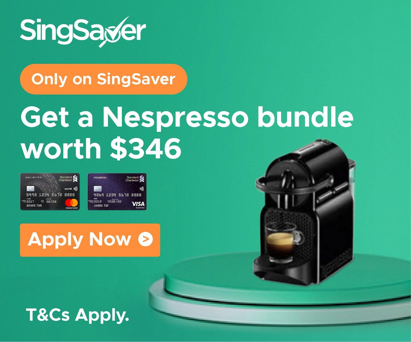 Singsaver (SG) SingSaver SCB Nespresso 2020 in 2020