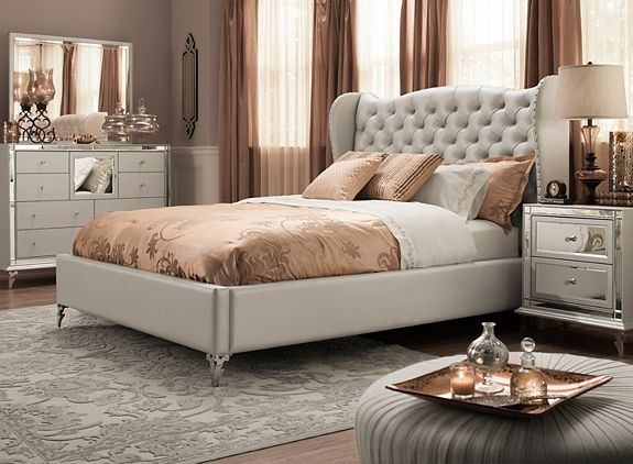 Bedroom Sets Queen hollywood loft 4-pc. queen bedroom set | bedroom sets | raymour
