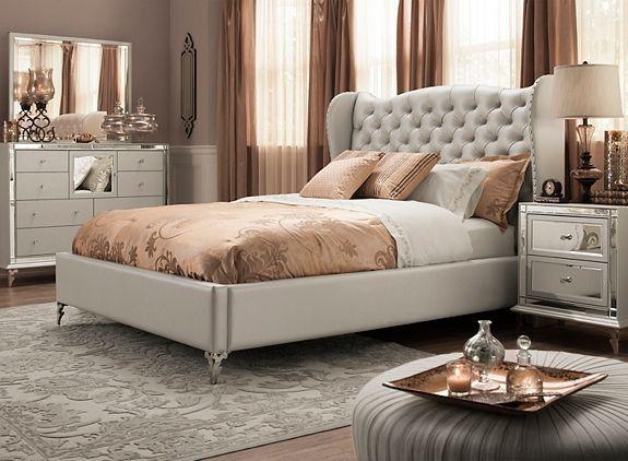 Hollywood Loft 4 Pc Queen Bedroom Set Queen Bedroom Sets Queen Bedroom And Lofts