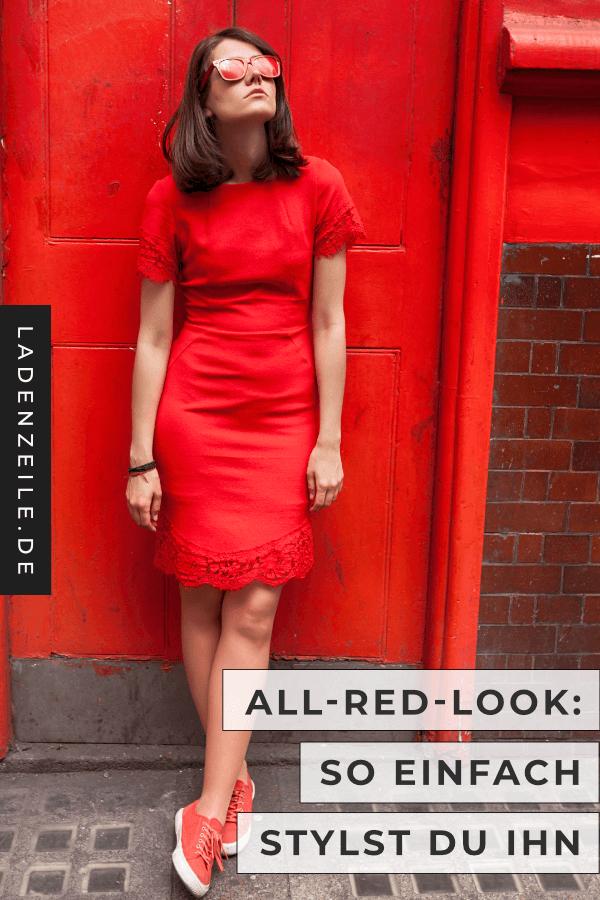 Rotes Kleid kombinieren: So geht's | LadenZeile