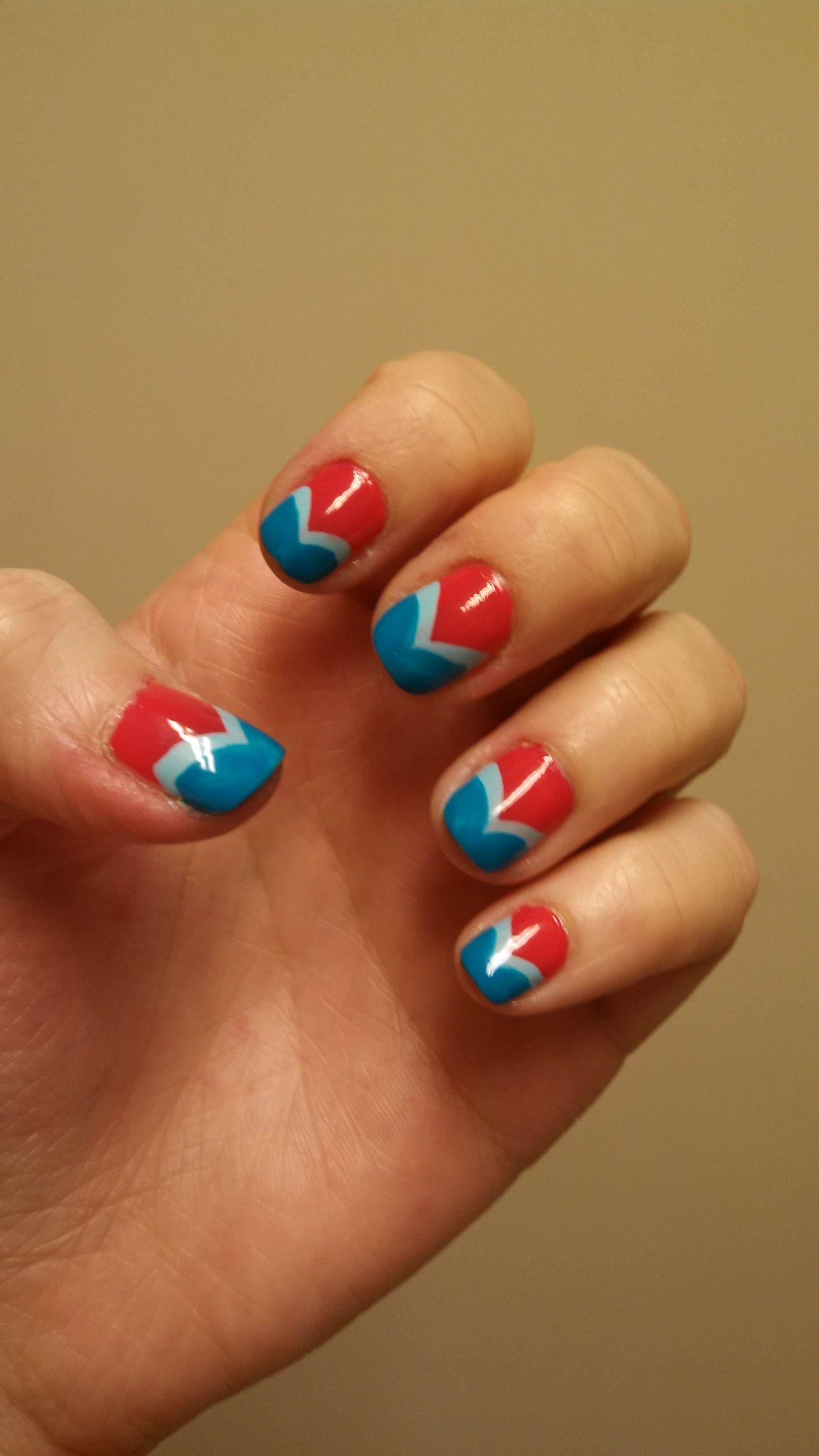 Chalkboard Nails remake Sally Hansen Salon Manicure Frutti Petutie