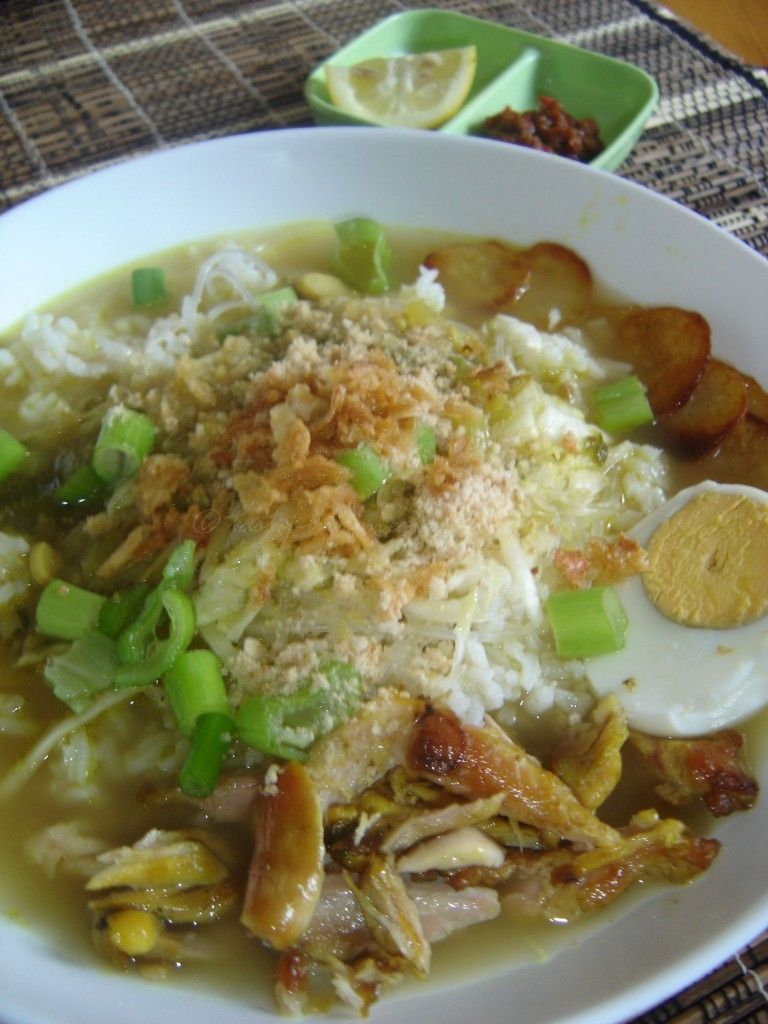 Tasty Indonesian Food Soto Ayam Food Soup Dinner Indonesian Food