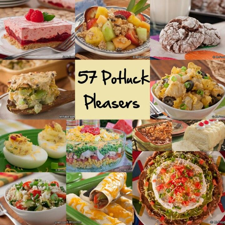 Main Dishes In A Party: Easy Potluck Recipes, Potluck Dishes
