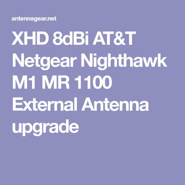 XHD 8dBi AT&T Netgear Nighthawk M1 MR 1100 External Antenna