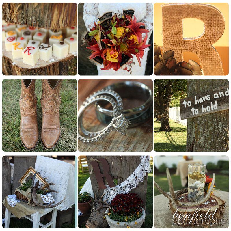 Hunting Camo Wedding Ideas: Benfield Photography Blog: Hunting Theme Wedding Of