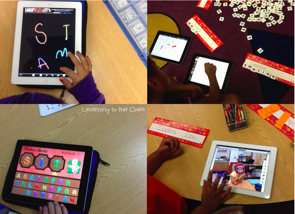 Integrating tech into reading! Check out this post on using