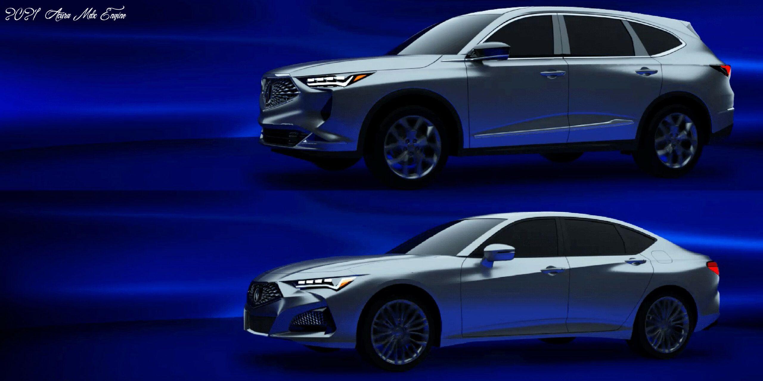 2021 Acura MDX Hybrid Redesign